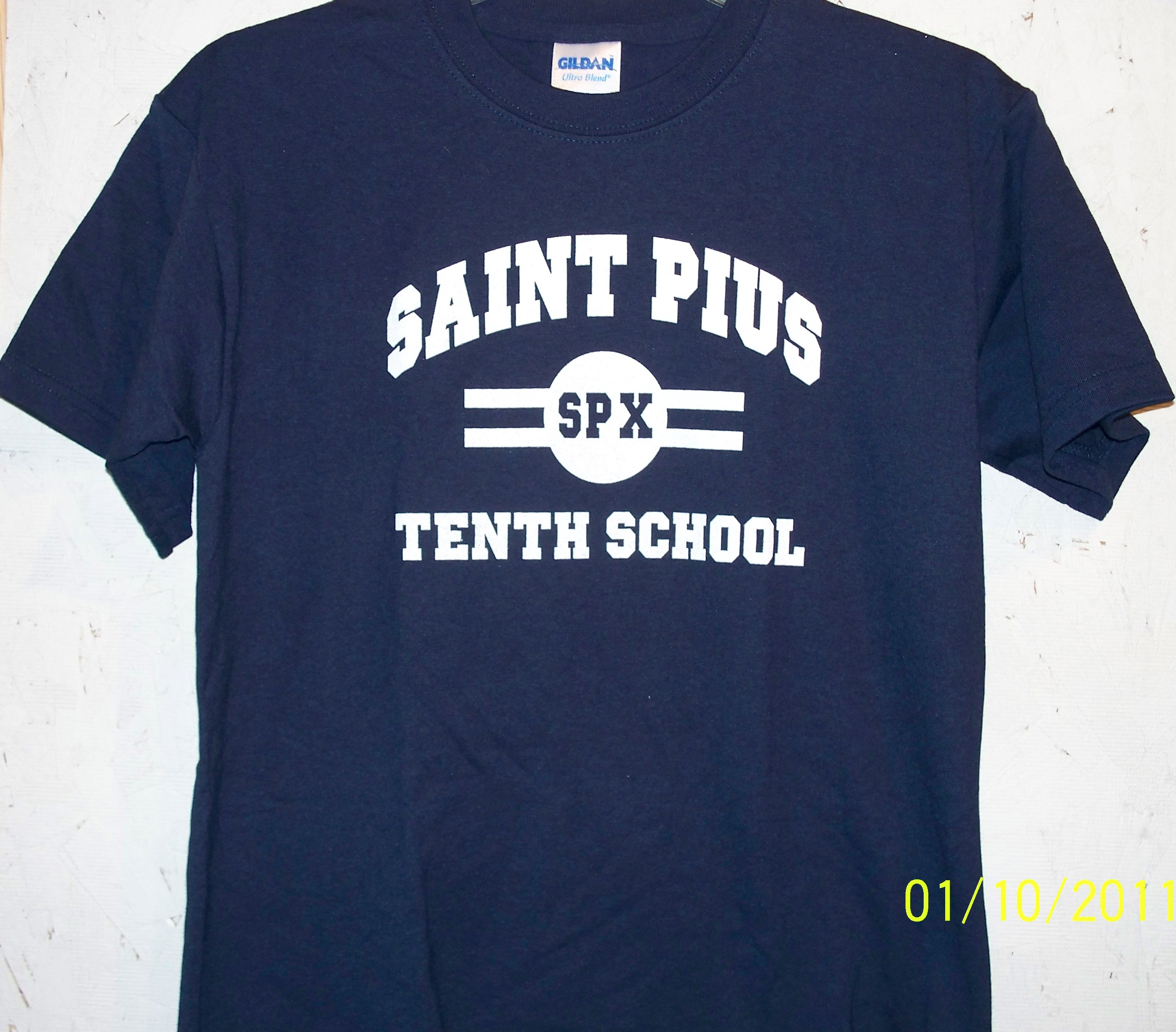 St Pius Gym Shirt