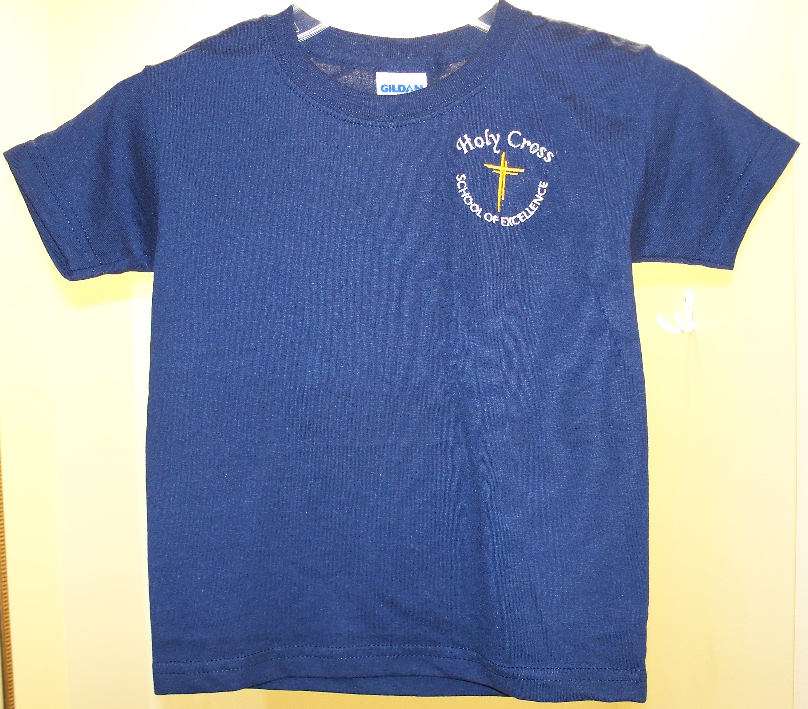 Holy Cross Navy Gym T-Shirt