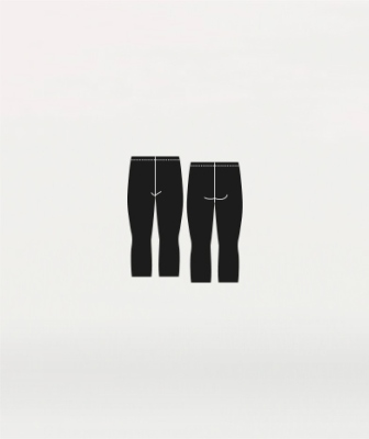 Body Wrappers Boys ProWEAR Professional Crop Dance Pant