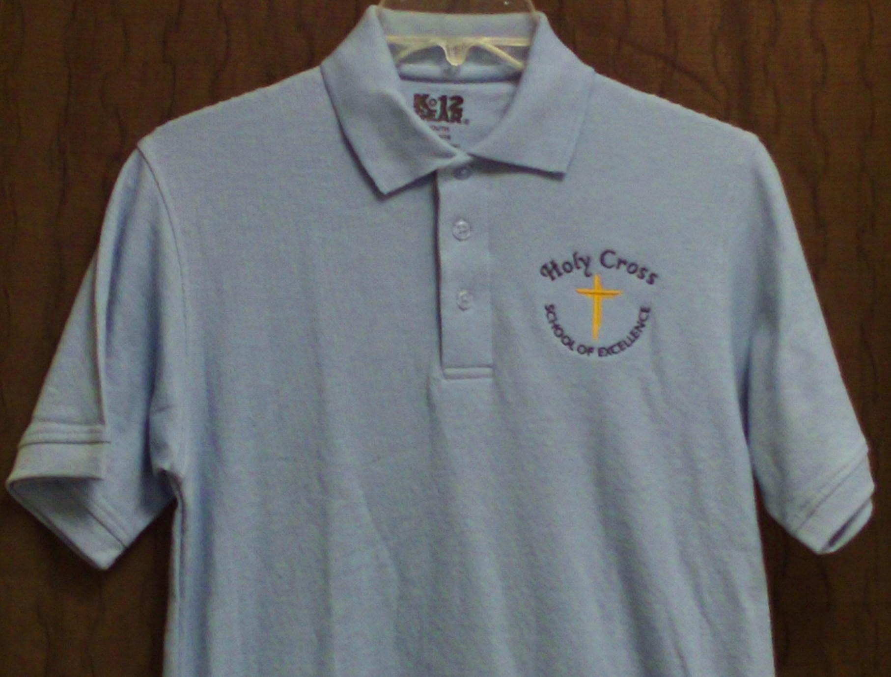 Holy Cross Polo Blue